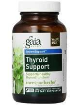 Gaia Herbs Thyroid Support System Review